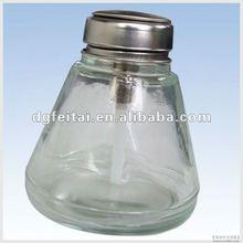 Anti-static Glass alcohol dispenser bottle