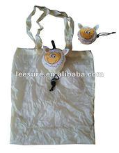 sheep shaped foldable shopping bag