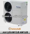 calentador de agua de la bomba de calor con la norma europea de enfriamiento sistema de calefacción