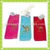 100% cotton velour gran canaria embroidered towel set embroidery towel factory supplier