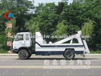 Dongfeng 185hps motor under lift wrecker truck