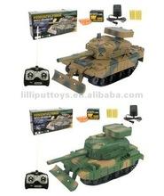 Battle RC Tank Shooting Bullet