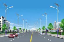 10m height single bracket highway lighting pole