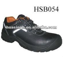 black metal toe heat resistant short cut CE marking industrial footwear/shoes