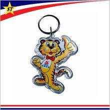 promotion novelty cheap custom blank plastic acrylic key chains