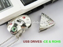2012 hot selling grade A chip pendrive manufacturers, China gifts jewellery pendrive factories