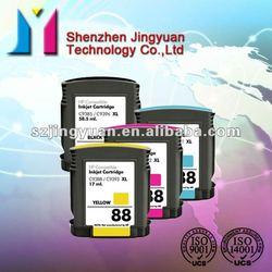 for HP 88(C9396/C9391/C9392/C9392/C9385/C9386/C9387/C9388) compatible ink cartridge