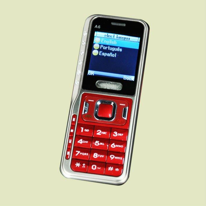 cheap phone quad band mobile phone A6