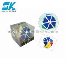 2012 New Style Creative and Fantastic Magic Cube Good design kids intelligence toy magic cube Plastic IQ Magic Cube Toys