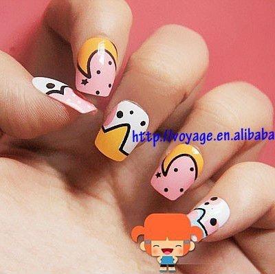 unique 3D nail art