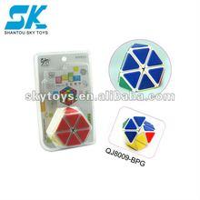 2012 New Style Creative and Fantastic Magic Cube New design!plastic magic cube toys educational toys Plastic IQ Magic Cube Toys
