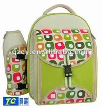 2012 fashion 600D picnic bag with mat