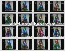 2012 Multicolor High brightness Energy Saving LED Chasing Christmas Twinkle String Lights