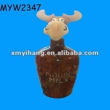 Ox wholesale ceramic antique liquor bottles