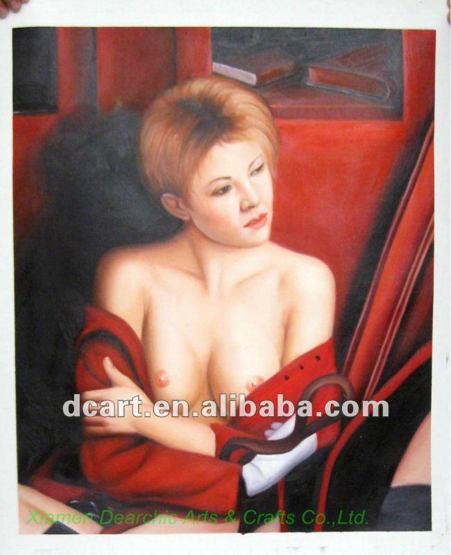 صورة عارية امرأة الفن