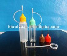 (ISO9001) PE/PET e-cigarette/e-liquid plastic dropper bottles&thin tips/slim dropper 5ml 10ml 15ml 20ml 30ml 50ml