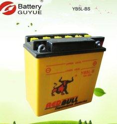 12v motorcycle battery in 5ah 6ah 7ah 9ah with high performance