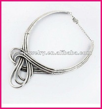 Fashion alloy gold necklace models 2012 for women