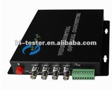 PT-4V1D-O Video optical transceiver;fiber optic transceiver;s video transceiver;
