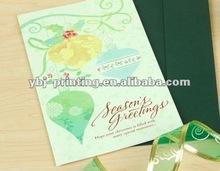 Christmas greeting card printing