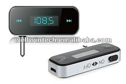 In-Car LCD Handsfree & FM Transmitter For Ipod/iPhone