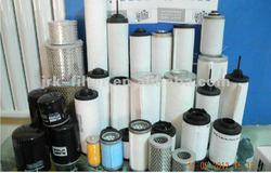 Vacuum pump oil and gas separator