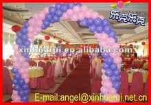 natural latex balloon arch !Metallic color round ballon