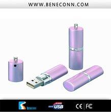 OEM usb flash drives ! Custom logo !2012 trendy purple stick!