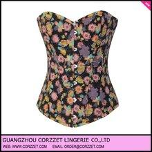 2012 Latest Butterfly Flower Fancy plus size victorian corsets #2821 + Wholesale Discount + Factory Dropship