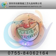 LED flash tin badges,badge china manufacturer