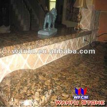 Baltic Brown Granite Kitchen Flat Edge Counter Top