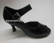 2013 patent leather women latin ballroom salsa dance shoes samba cha cha, waltz, rumba shoes dropship worldwide