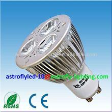 Energy saving item 6W GU10 led spotlight to replace 50W halogen light/3W MR16