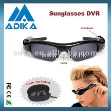Easy to Use 720P Sunglasses Hidden Camera with Voice Recording ADK1052C