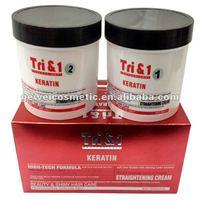 Keratin hair care straigthtening cream hair rebonding price