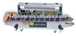 automatic plastic bag packing machine Plastic /film continuous sealing machine 0086 37167670501