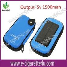 Latest green smoke e-cigarette PCC, Solar charger, 1500mah Battery