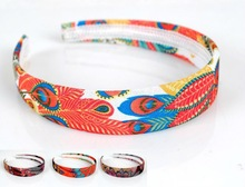 2012 newest fabric ladies hair bands
