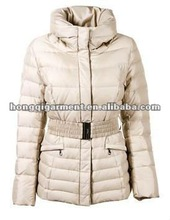 2012 cheap popular new style women down jacket