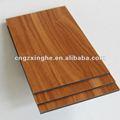 grão de madeira para construção de painéis de alumínio composto placa da parede para a decoração da fachada