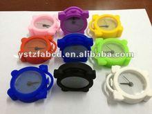 Fashionable Mini Silicone Running Alarm Clock for Children