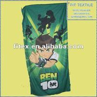 ben 10 micro fiber suede Towel