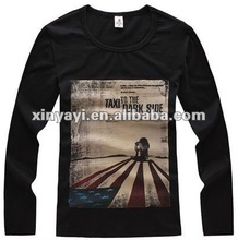 Autumn 2012 new the flag stamp leisure Men long-sleeved winter bottoming shirt