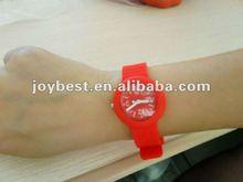 Custom Silicone Fruit Jelly Watch