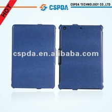 For Ipad Mini 7.8 inch Genuine Leather Case with Built-in Stand