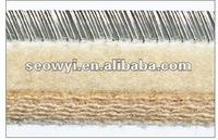 Flexible card clothing for Woolen roller cards(Wool Felt foundation)