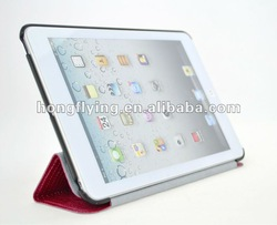New Arrival Leather mini case for Ipad
