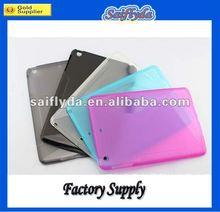 silicone back case back cover for mini ipad