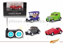 Radio control toy car,1:48 5ch mini rc classic cars