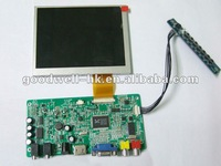 640x480 Touch hdmi input 5 inch lcd display module